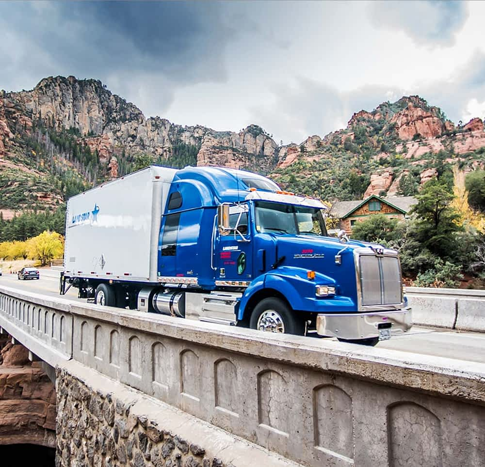 Expedited freight trucking logistics
